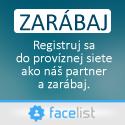 facelist - provízna sieť partneri